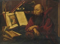 saint jérôme by marinus van reymerswaele