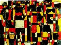 constructivo con figuras en colores puros by dayman antunez