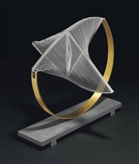 construction in space: suspended by naum gabo