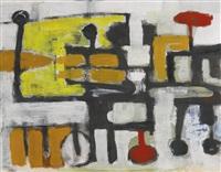 artwork 1954 by roger hilton