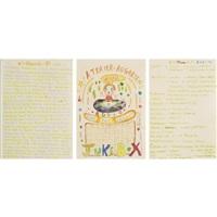 jukebox playlist (3 parts in 1 frame) by hiroshi sugito and yoshitomo nara