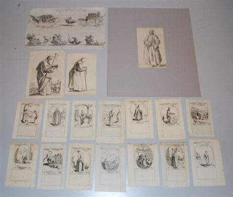 images des saints 19 works by jacques callot