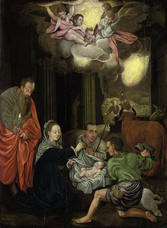 the adoration of the shepherds by jacob de backer