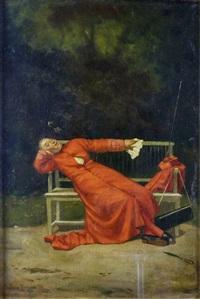 la sieste du cardinal by alfred weber