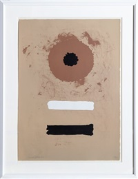 two bars by adolph gottlieb