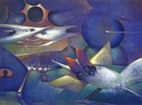 surrealistische szene by robert alvarez rios