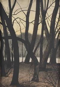 trees by léon spilliaert