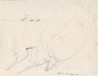 4 blatt zeichnungen (4 works, some lrgr) by anatol (karl heinz herzfeld)