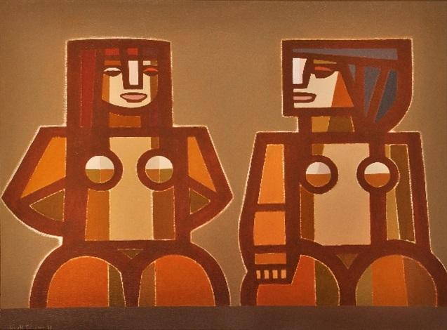 torsos en ocres by juan manuel sanchez