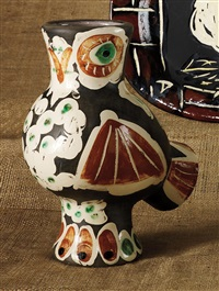 chouette (wood-owl) by pablo picasso