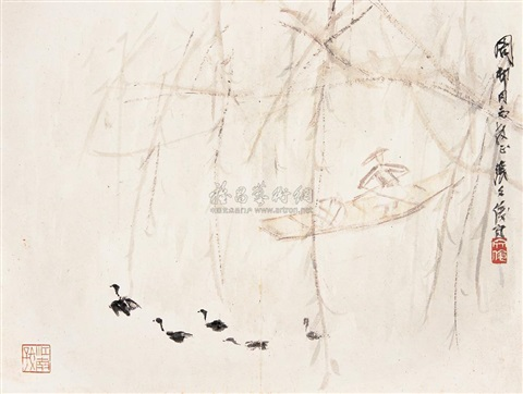 the scenery of countryside by zhang wenjun