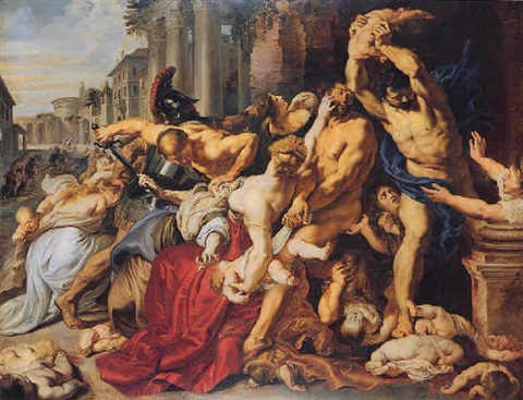the massacre of the innocents by sir peter paul rubens