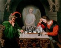 die schachspieler by friedrich moritz august retzsch