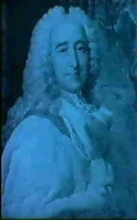 portrait of a nobleman in an ermine cloak by paul gomien