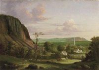 view of westville by george henry durrie