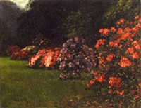 rhododendrons - rotten row by ellis cecil marks