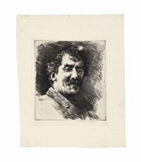 portrait of whistler by mortimer luddington menpes