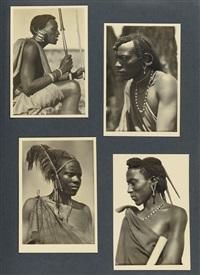 l'afrique qui disparait! recueil etnographique (sic!) de l'afrique equatoriale (portfolio of 347) by casimir zagourski