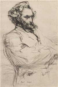 drouet sculpteur by james abbott mcneill whistler
