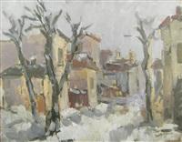 winter landscape by sorin adam