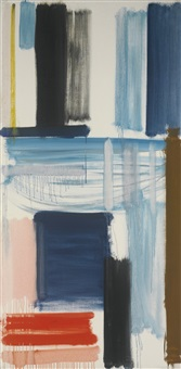 blue horizon: march 1957 by patrick heron
