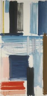 blue horizon: march 1957 by patrick heron
