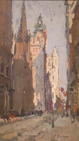 wall street by colin campbell cooper