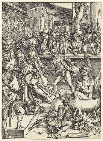 the martyrdom of saint john from the apocalypse by albrecht dürer