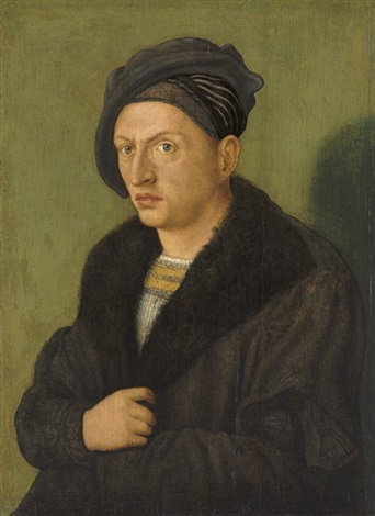 portrait of a man by hans suess von kulmbach