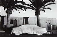 covered car- long beach, california by robert frank