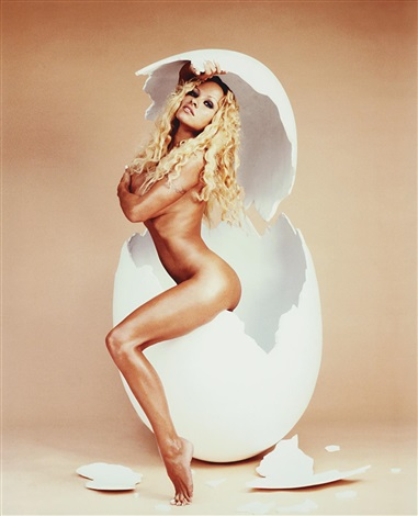pamela anderson over easy by david lachapelle