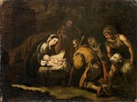 the adoration of the shepherds by francisco antolínez