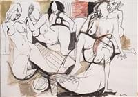 senza titolo (nudi) by renato guttuso
