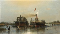 steamship on the don by aleksei petrovich bogolyubov