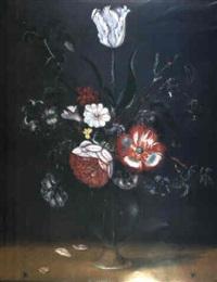 fleurs dans un vase by jacob woutersz vosmaer