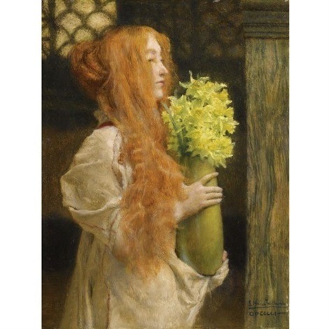 spring flowers by sir lawrence alma tadema