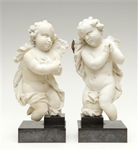 putti (2 works) by flemish school-antwerp (18)