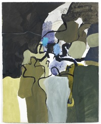 night procession by keith vaughan