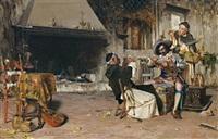 der falschspieler by raffaelo armenise