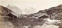 vue panoramique des alpes by a. braun a dornach