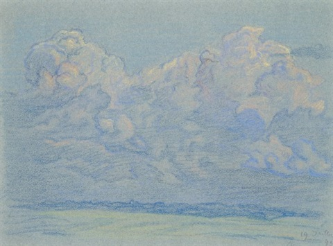 ciel 2 studies by paul emile colin