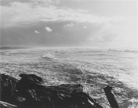 south from the south jetty by robert adams