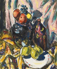 still life with pears by alfred henry maurer