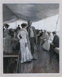 promenade en bateau by johannes leonhard