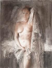 standing nude by jan asselbergs