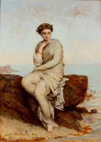 portrait de femme by jean-ernest aubert