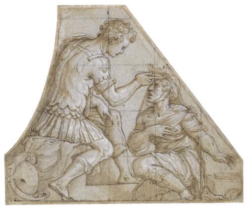 grand duke cosimo demedici reviving the city of volterra by giorgio vasari