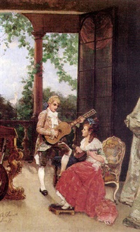 musical duet by alfonso simonetti