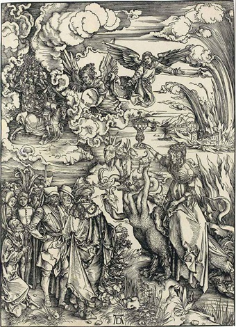 the whore of babylon from the apocalypse by albrecht dürer
