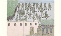 bataille en italie by moulay ali alaoui